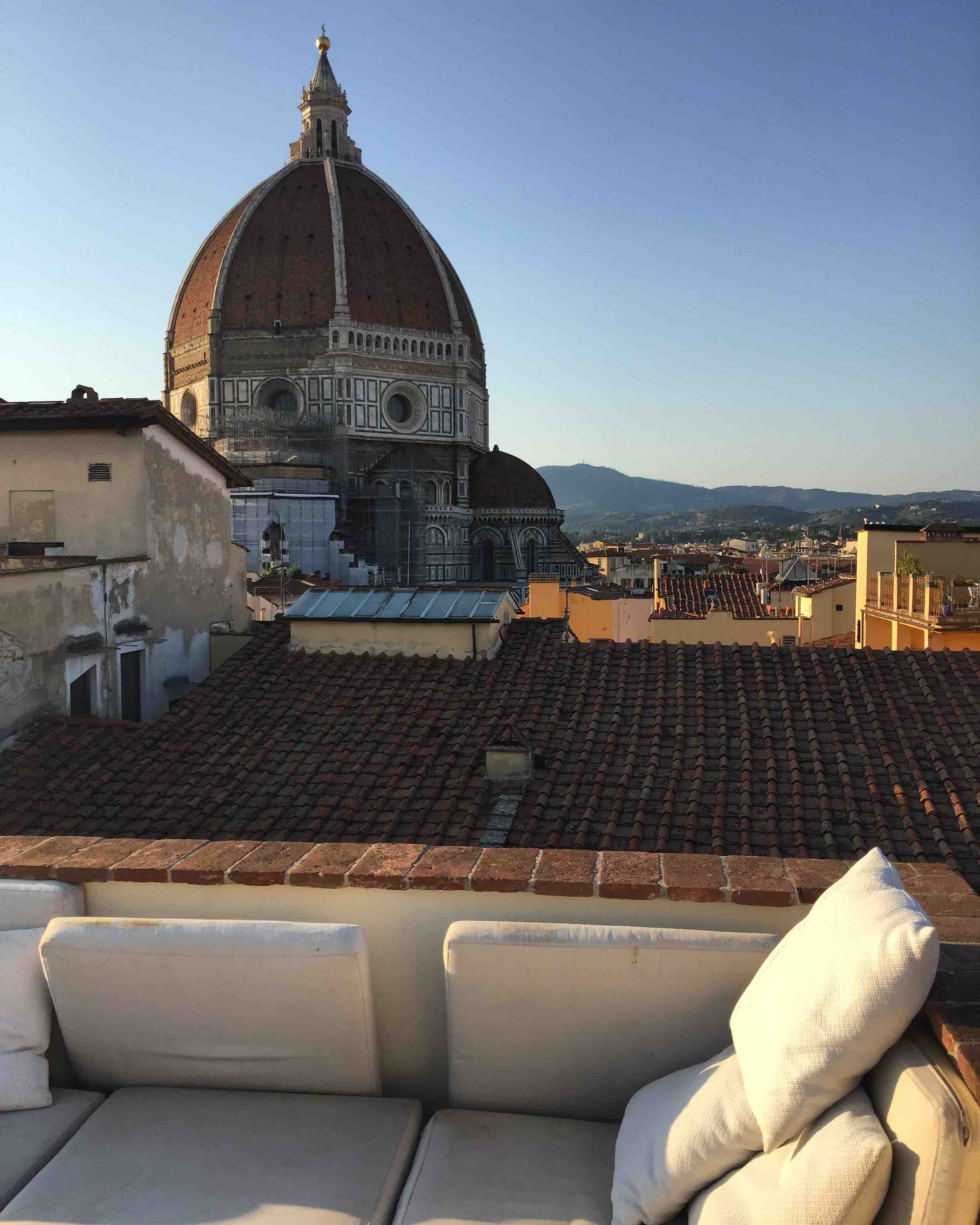 cooking on the rooftops of florence